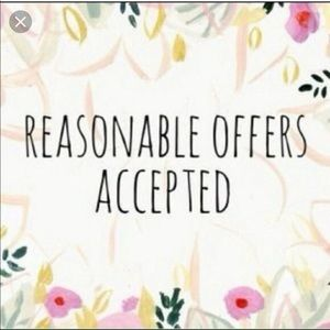 Accessories - All Offers Welcomed